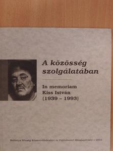 Angyalosi László - A közösség szolgálatában [antikvár]