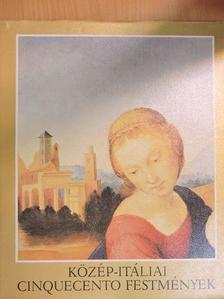 Tátrai Vilmos - Közép-itáliai cinquecento festmények [antikvár]