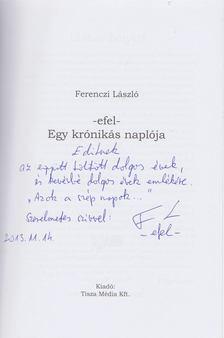 Ferenczi László - Egy krónikás naplója [antikvár]