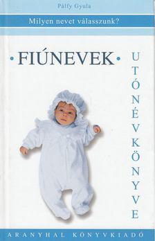 Pálfy Gyula - Fiúnevek utónévkönyve [antikvár]