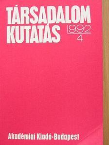 Farkas János - Társadalomkutatás 1992/4. [antikvár]