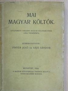 Áprily Lajos - Mai magyar költők [antikvár]