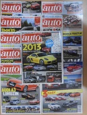 Autó Magazin 2013. (nem teljes évfolyam) [antikvár]