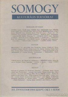 Laczkó András - Somogy 1984. szept-okt. 5. szám [antikvár]