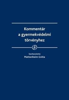 Mattenheim Gréta - Kommentár a gyermekvédelmi törvényhez [eKönyv: epub, mobi]