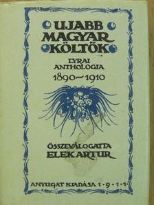 Ady Endre - Ujabb magyar költők (minikönyv) [antikvár]