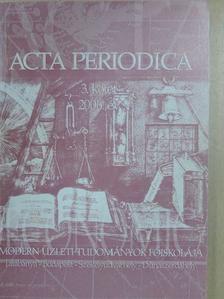 Deés Szilvia - Acta Periodica 3. [antikvár]