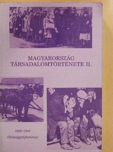 Gyáni Gábor - Magyarország társadalomtörténete II. [antikvár]