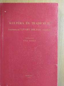 Bellon Tibor - Kultúra és tradíció II. (töredék) [antikvár]