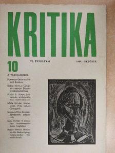 Baróti Dezső - Kritika 1968. október [antikvár]