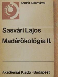 Sasvári Lajos - Madárökológia II. [antikvár]