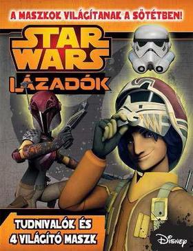 .- - Star Wars - Lázadók foglalkoztató sötétben világító maszkkal