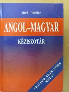 Bíró Lajos - Angol-magyar kéziszótár [antikvár]