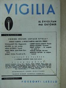 Cserey Szász László - Vigilia 1943. október [antikvár]