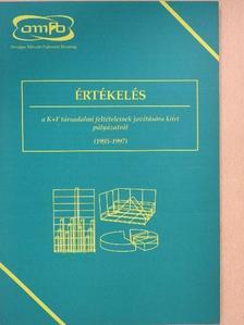 Andrási Zoltán - Értékelés a K+F társadalmi feltételeinek javítására kiírt pályázatról [antikvár]
