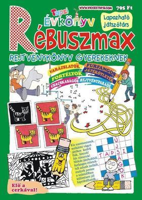 Tapsi Rébuszmax - Rejtvénykönyv gyerekeknek