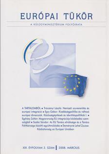 Hovanyecz László - Európai tükör 2008. március [antikvár]