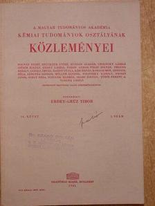 Bányai Éva - A Magyar Tudományos Akadémia Kémiai Tudományok Osztályának Közleményei 1961/3. [antikvár]