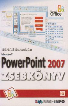 BÁRTFAI BARNABÁS - PowerPoint 2007 zsebkönyv [antikvár]