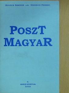 Kovács Sándor - Posztmagyar [antikvár]