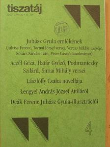 Aczél Géza - Tiszatáj 2003. április [antikvár]