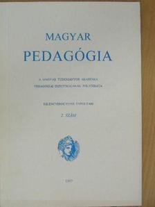 Ágoston György - Magyar Pedagógia 1997/2. [antikvár]