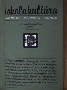 Ambrus Attiláné Kéri Katalin - Iskolakultúra 1995/5. [antikvár]
