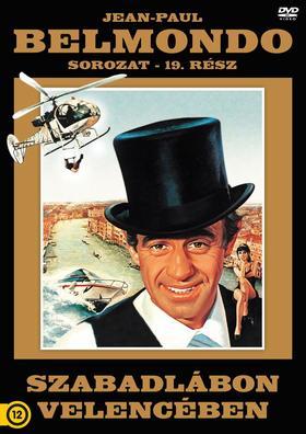 Szabadlábon Velencében - Belmondo - DVD -