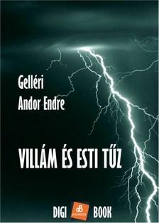 Gelléri Andor Endre - Villám és esti tűz [eKönyv: epub, mobi]