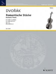 DVORAK - ROMANTISCHE STÜCKE FÜR VIOLINE UND KLAVIER OP.75 (BIRTEL/EICHHORN)