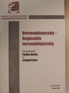 Botos József - Versenyképesség - regionális versenyképesség [antikvár]