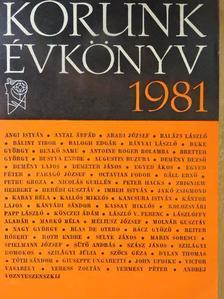 Angi István - Korunk évkönyv 1981 [antikvár]
