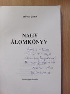 Pusztai János - Nagy álomkönyv I. (dedikált példány) [antikvár]