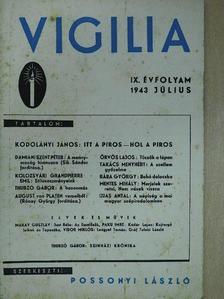 August von Platen - Vigilia 1943. július [antikvár]