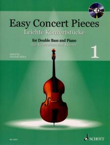 EASY CONCERT PICES FOR DOUBLE BASS AND PIANO 2 + CD (CHARLOTTE MOHRS)