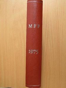 Brájer László - Magyar Fizikai Folyóirat XXIII. kötet 1-6. füzet [antikvár]