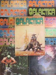 Alfred Bester - Galaktika 112-121., 123. (nem teljes évfolyam) [antikvár]