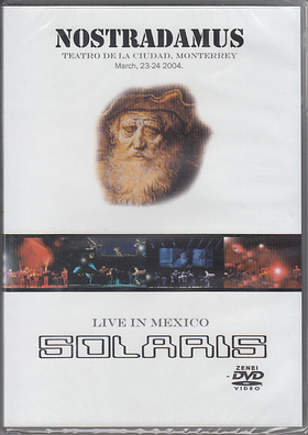 SOLARIS - LIVE IN MEXICO DVD SOLARIS