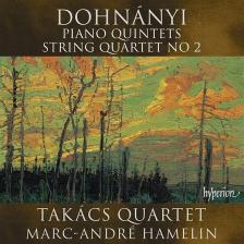 DOHNÁNYI - PIANO QUINTET NO 1 CD TAKÁCS QUARTET