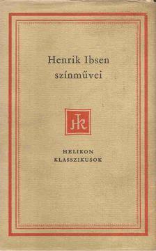 Ibsen, Henrik - Henrik Ibsen színművei I. [antikvár]