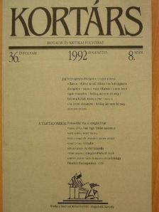 Balassa Péter - Kortárs 1992. augusztus [antikvár]