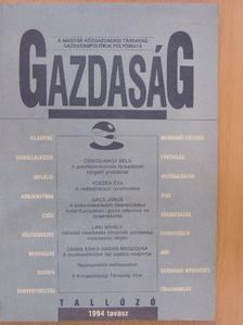 Balassa Ákos - Gazdaság 1994. tavasz [antikvár]