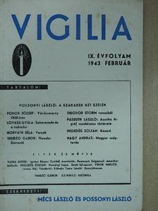 Fodor József - Vigilia 1943. február [antikvár]