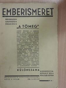 Ágoston-Wirkmann Tibor - Emberismeret 1936. január [antikvár]