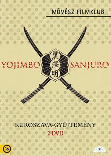 Akira Kuroszava - KUROSAVA GYŰJTEMÉNY - 2 DVD - (YOJIMBO, SANJURO)
