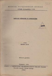 Kovács Lajos - Lakkozási módszerek és berendezések [antikvár]