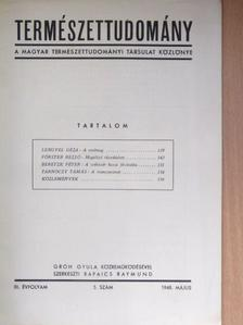 Beretzk Péter - Természettudomány 1948. május [antikvár]