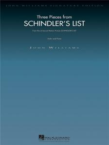 John Williams (zeneszerző) - SCHINDLER'S LIST. THREE PIECES FROM... VIOLIN AND PIANO