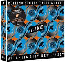 The Rolling Stones - STEEL WHEELS LIVE - DVD
