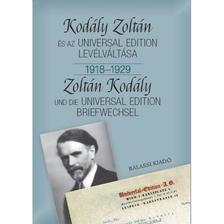 Bónis Ferenc - KODÁLY ZOLTÁN ÉS AZ UNIVERSAL EDITION LEVÉLVÁLTÁSA I. 1918--1929